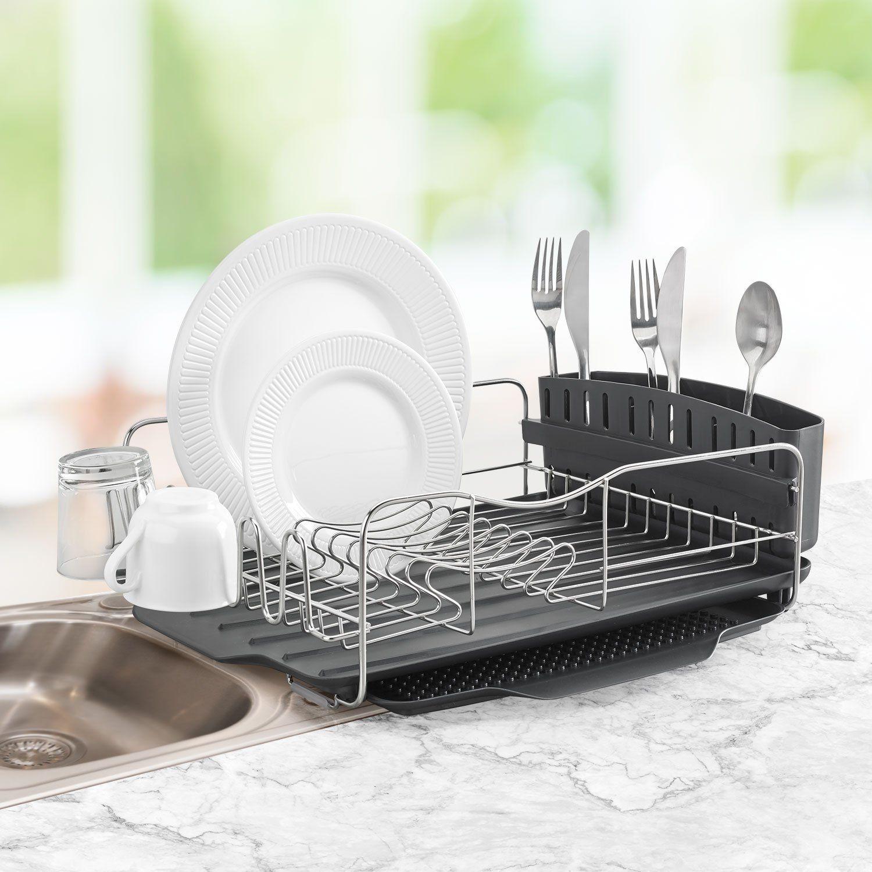 Amazon Polder Dish Rack & Tray 4 PC bo Advantage System