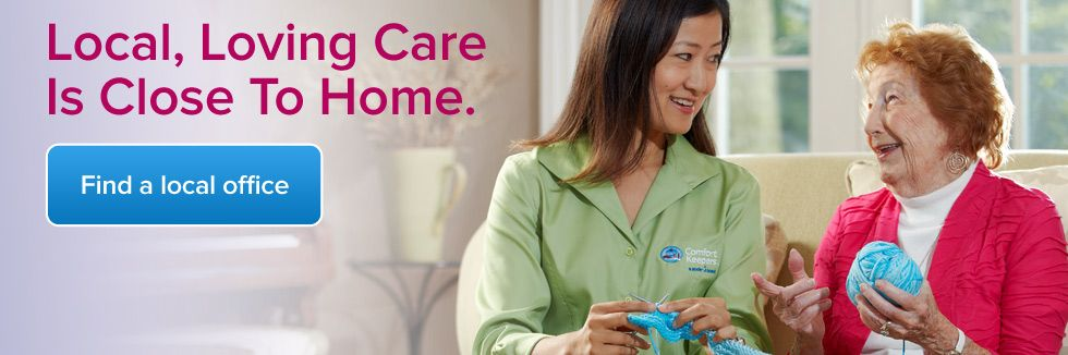Comfort Keepers InHome Care Senior Care Comfort