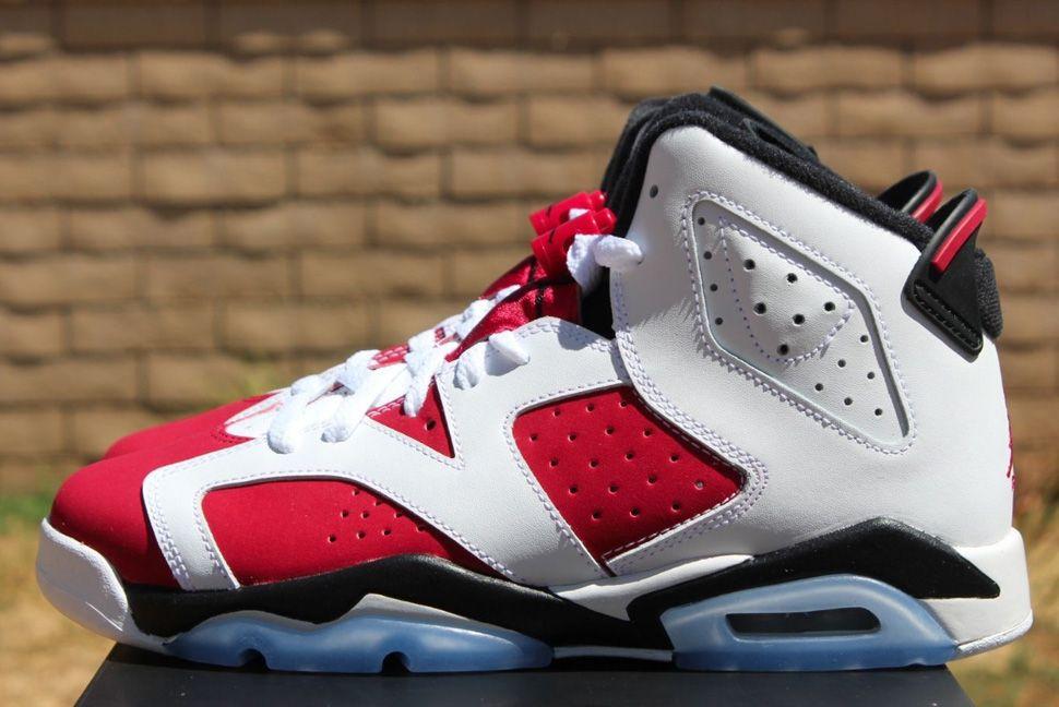 """best sneakers 83b7a db9a7 Air Jordan 6 """"Carmine"""" GS"""
