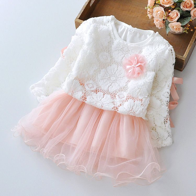 Cheap newborn dress buy quality dress dress dress directly from china dresses newborn girls suppliers 2015 new autumn winter cute lace pullover long