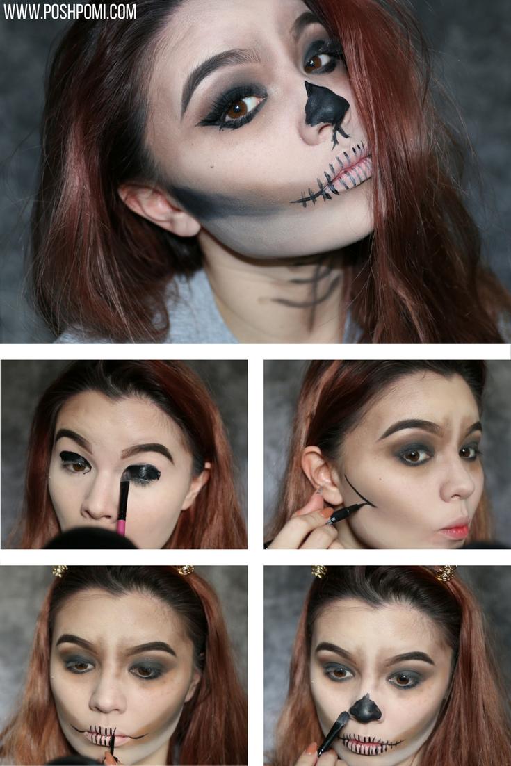 10 easy diy halloween makeup ideas | the best of beauty | pinterest