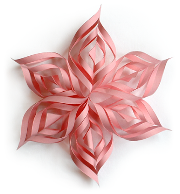 Lacy 3d Paper Snowflake Tutorial Template For Large And Small