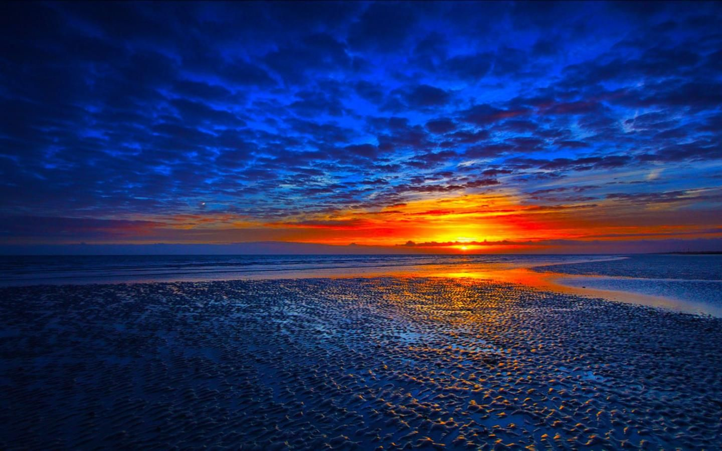 Blue Sunset Backgrounds Sunset Background Sunset Wallpaper Sunset Nature