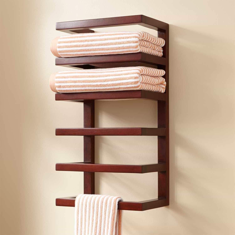 Useful Towel Rack For Your Bathroom Bathroom Towel Storage Towel Holder Bathroom Bathroom Towel Decor