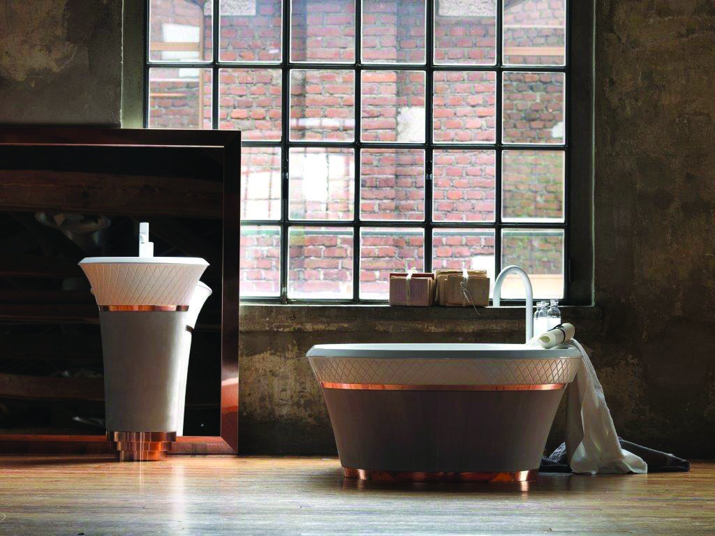 Look at this gorgeous new falper george freestanding bath with