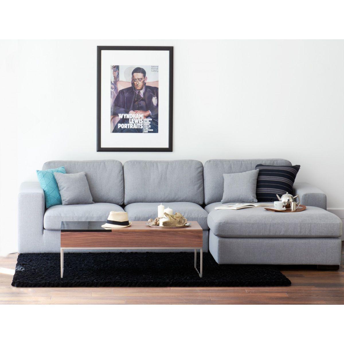 Captivating Wohnzimmer Set Maxton Umfasst Das Komfortable Ecksofa Boston Grau Mit  Schlaffunktion, Wahlweise Mit Chaiselounge Awesome Design