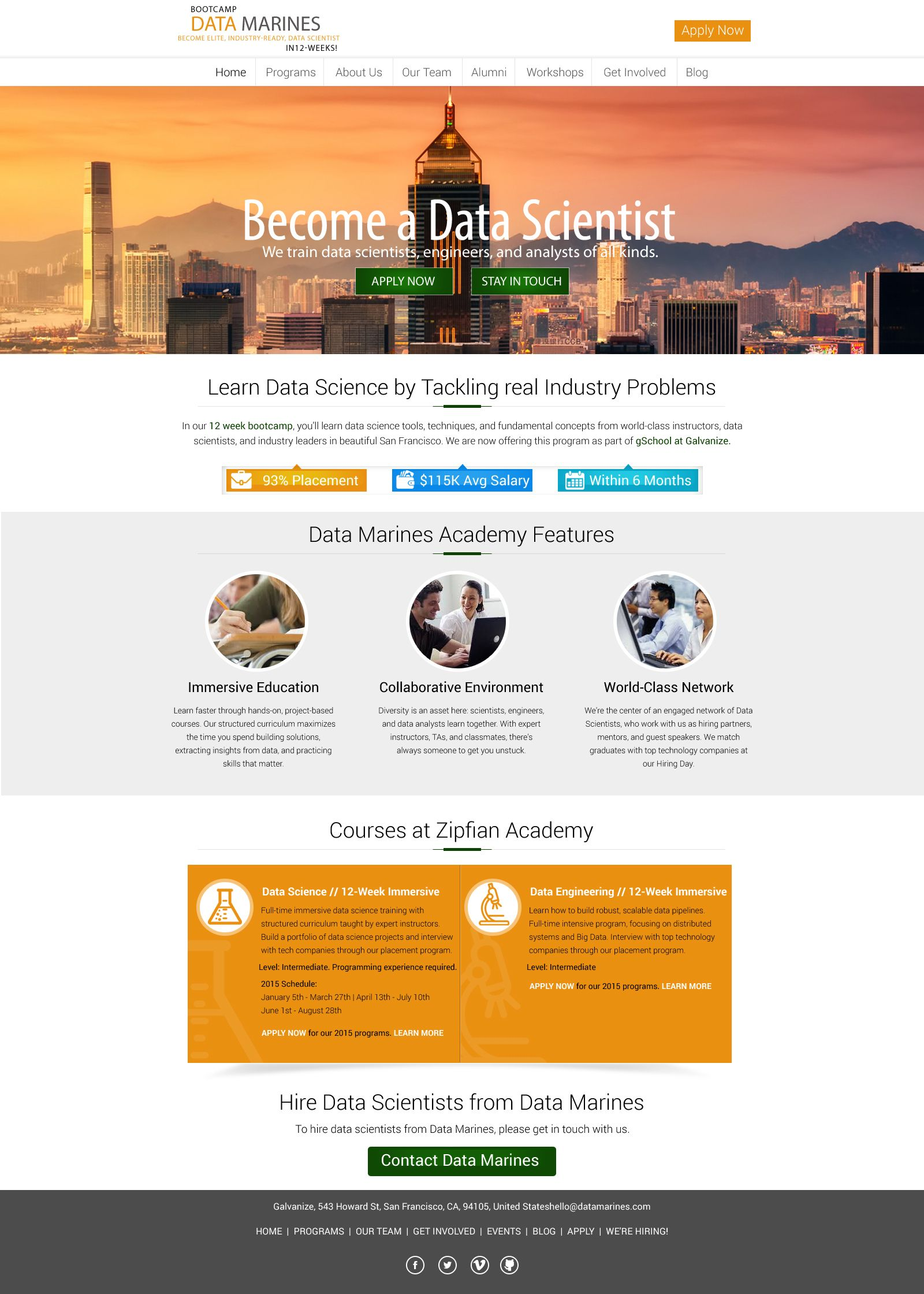 Academy institute website template design | DINA NATH SHAW TEMPLATE ...