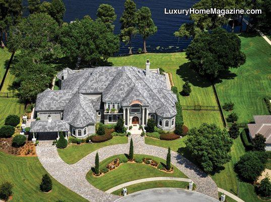 LHM Tampa Bay - Ski Lake Estate #LuxuryHomes #RealEstate #Lakefront