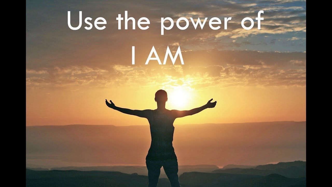 Power of i am law of attraction motivation put yourself