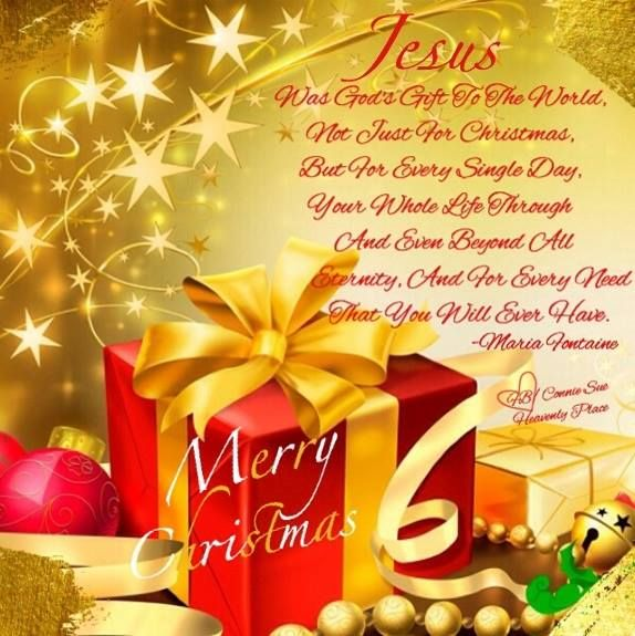 Wishing everyone a blessed christmas