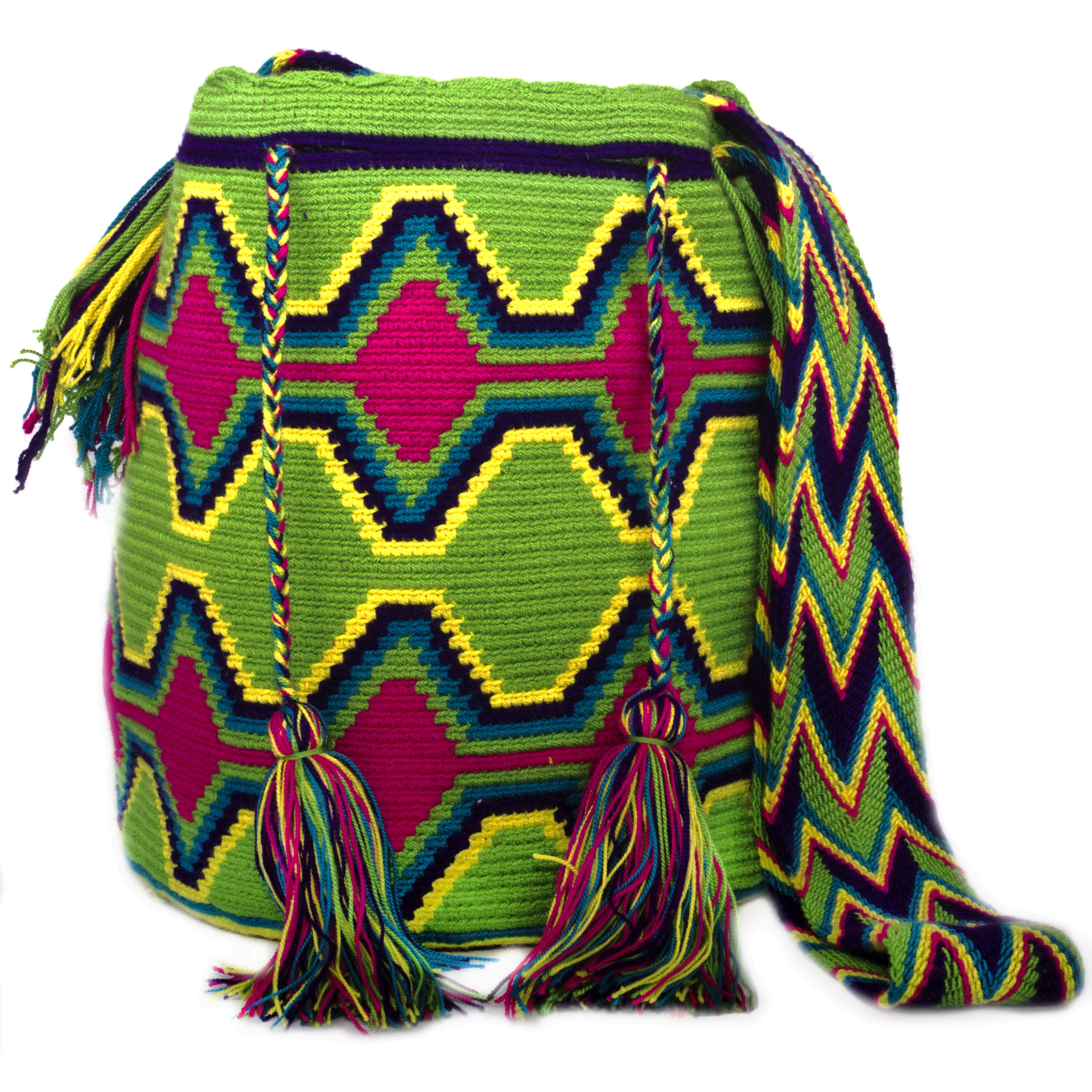 Chila Wayuu Bag Mochilas Crochet Mochila Ganchillo Bolsos Wuayu