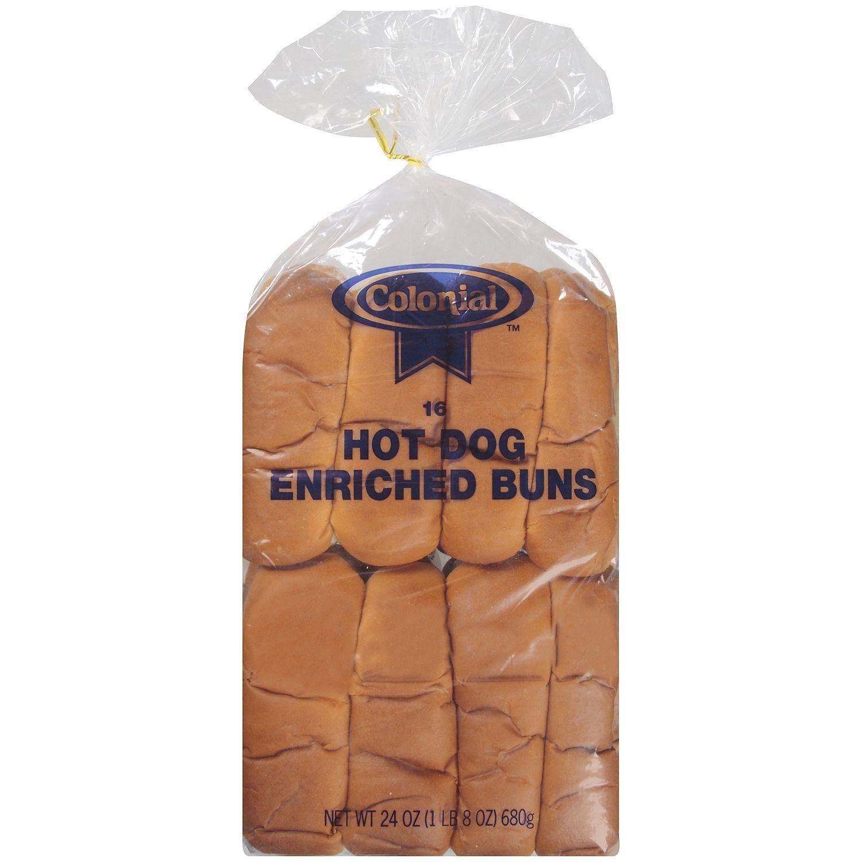 Colonial hot dog enriched buns 16 ct sams club 2