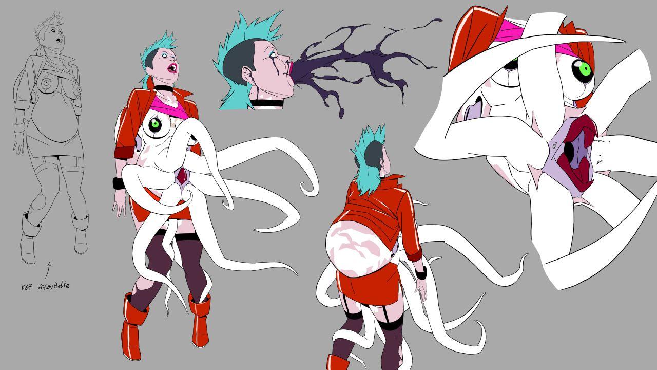 Catfish deluxe character art character design concept
