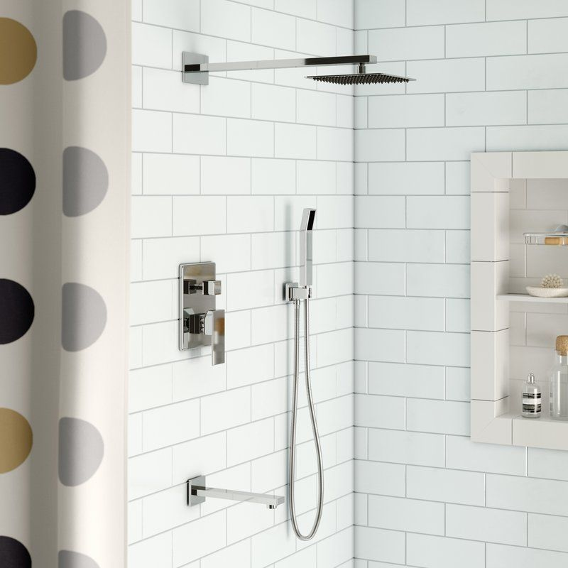 Cahoon Volume Control Complete Shower System With Rough In Valve