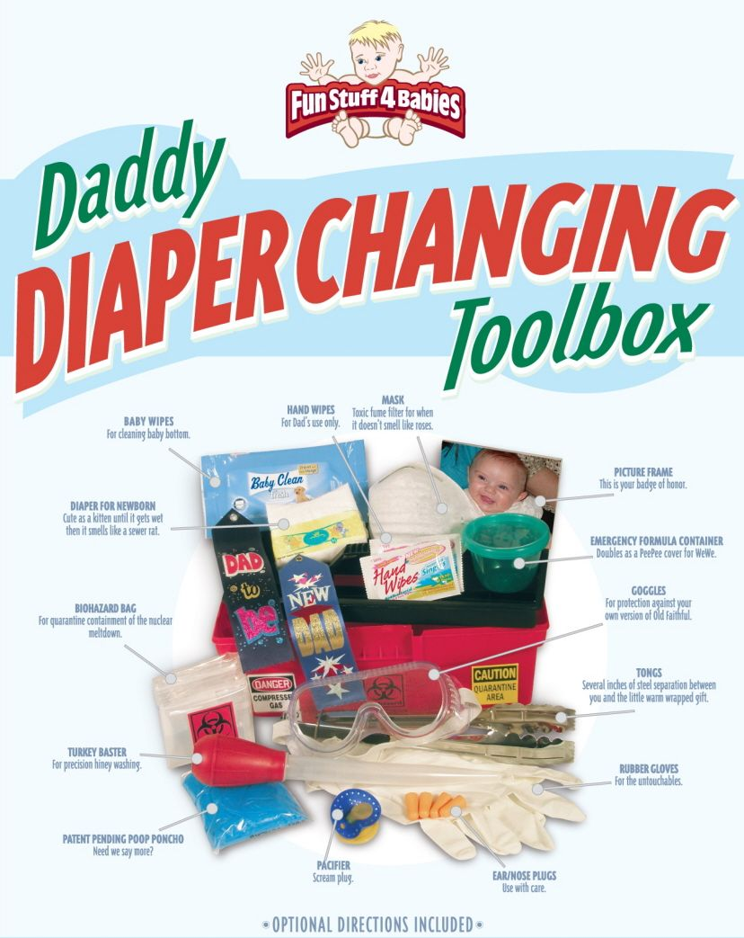 Daddy Diaper Changing Toolbox Daddy S Board Daddy