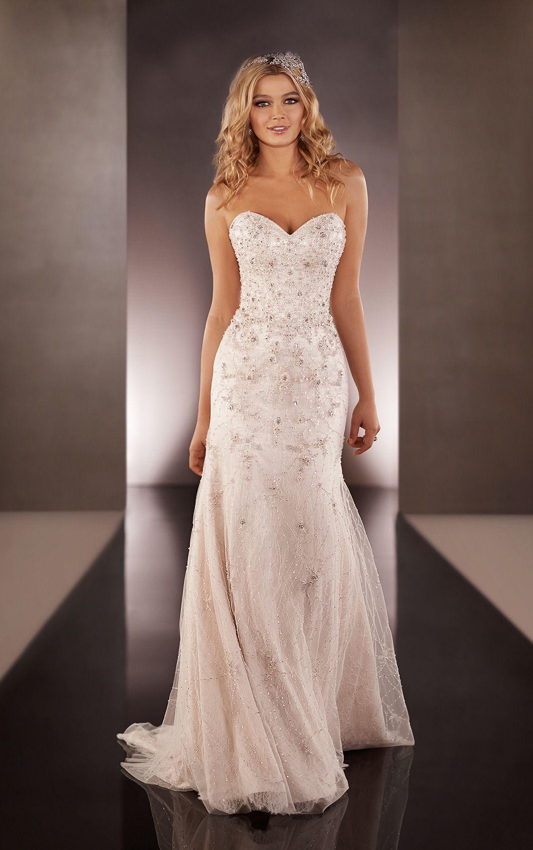 Beautiful A line Floor length Wedding Dresses,Online Wedding ...