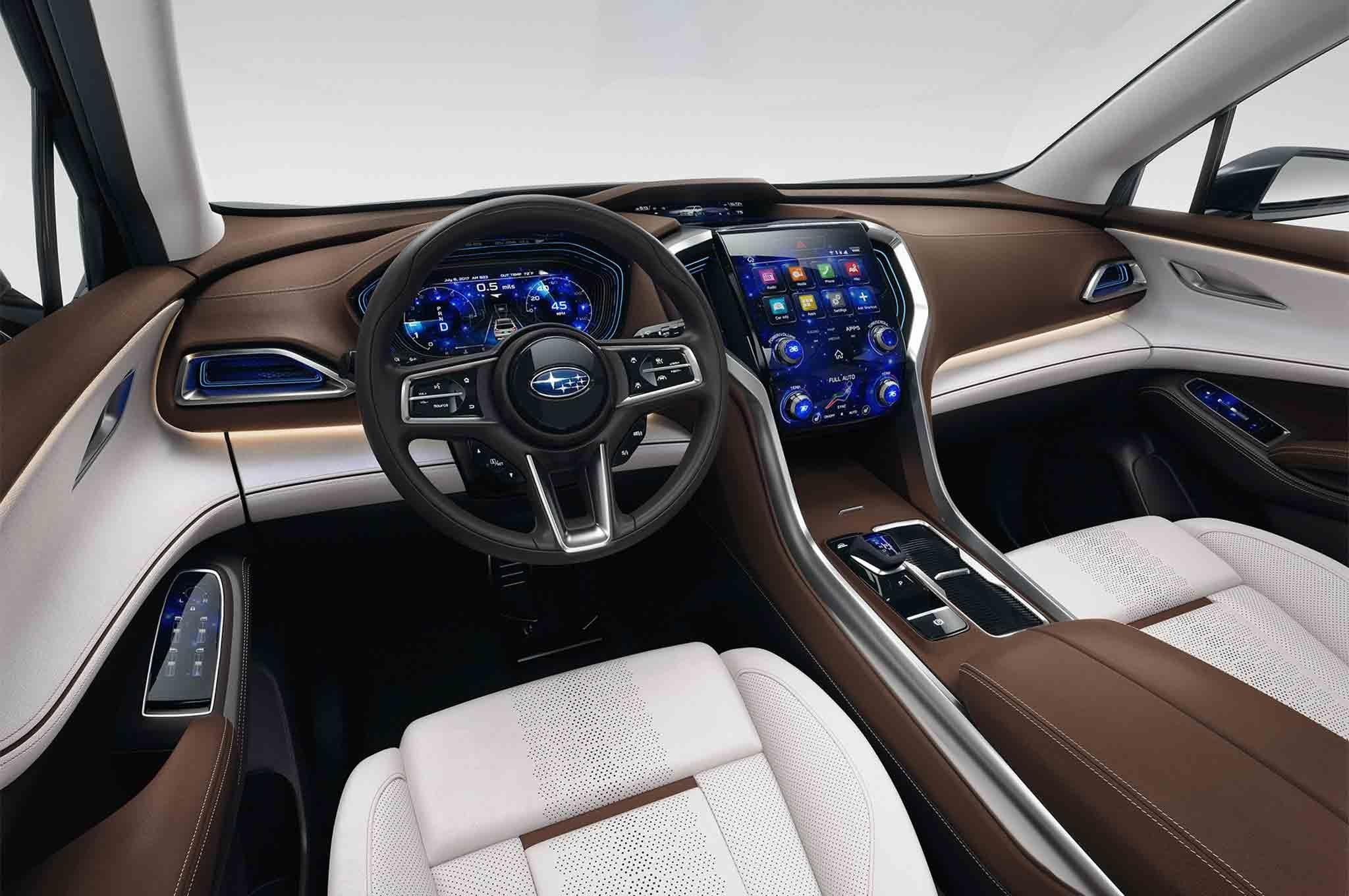 2018 Subaru Ascent Suv Revealed In New York The Drive Within Release Date And Specs