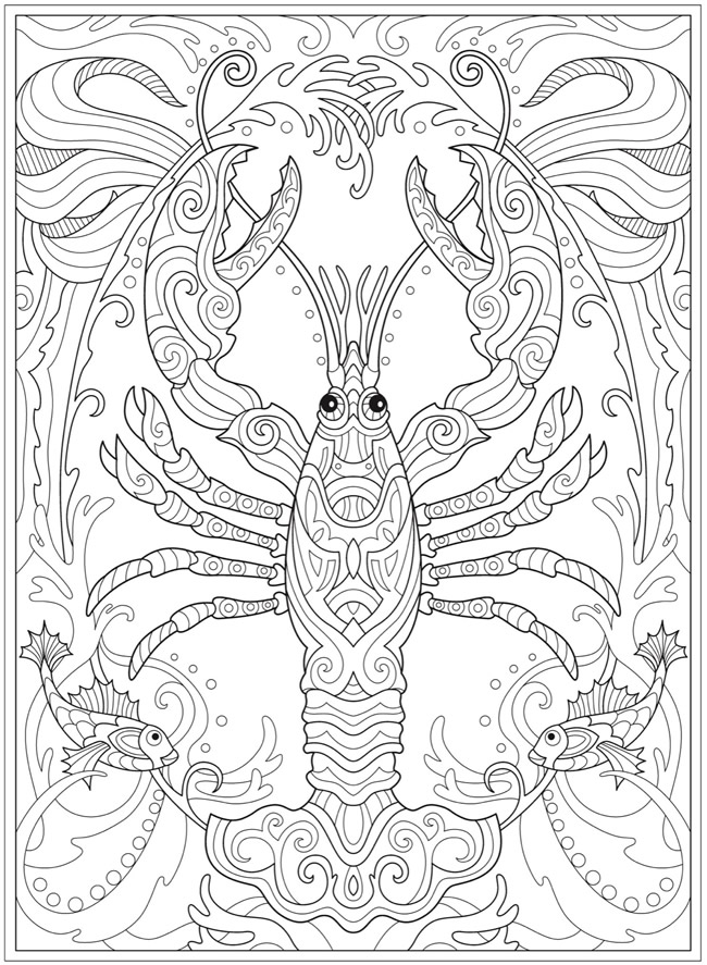 Welcome To Dover Publications Animal Coloring Pages Pattern Coloring Pages Coloring Books