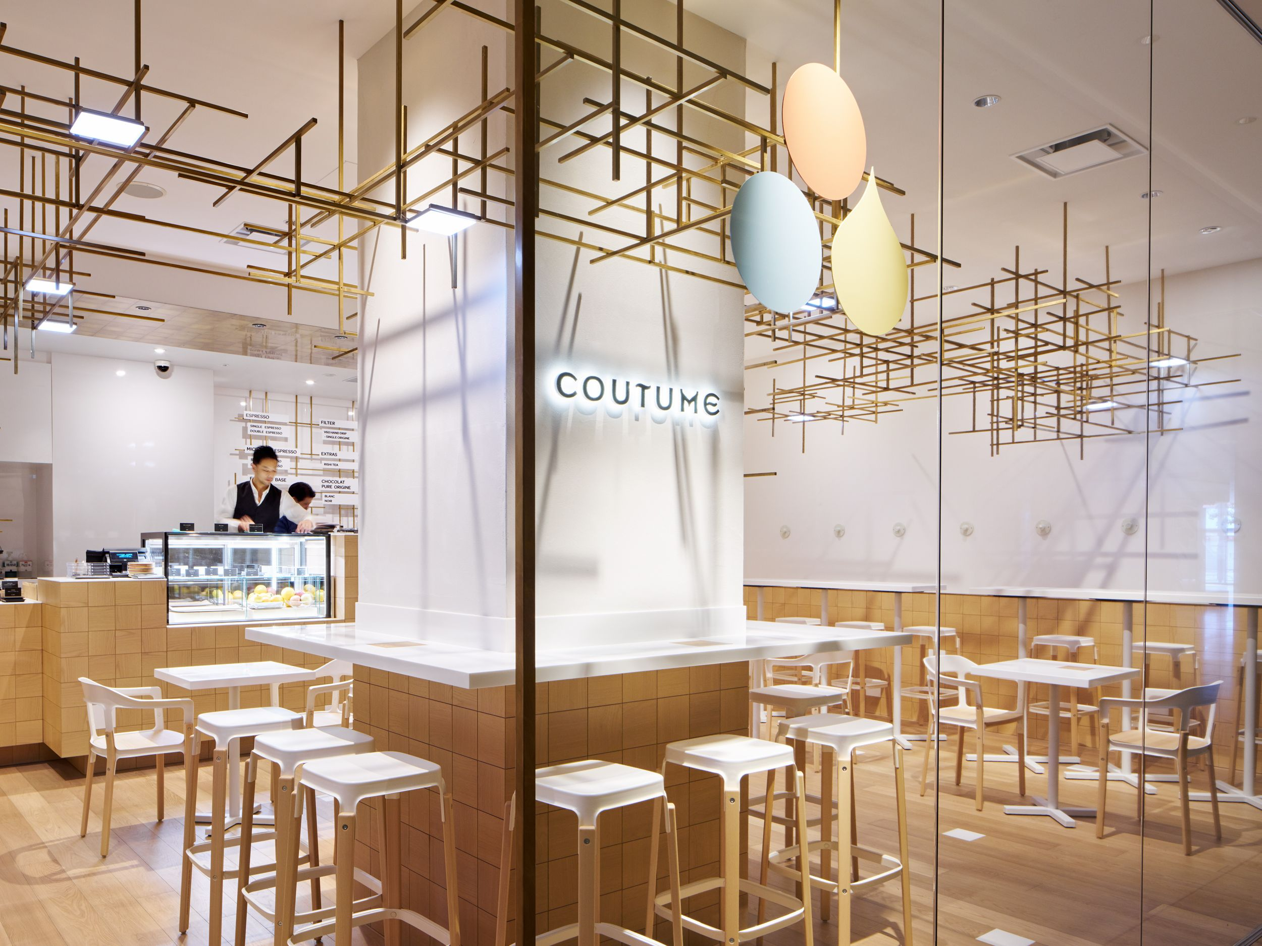 Coutume futakotamagawa cut architectures · cafe shopcontemporary architecturedesign