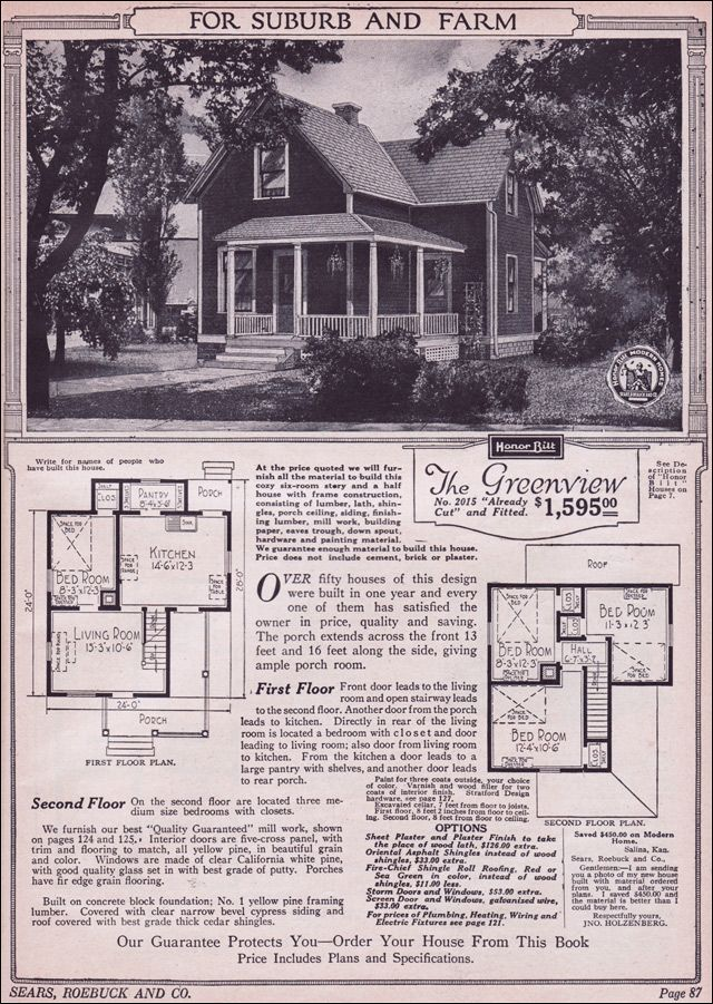 1923 Sears Mailorder House. Designing A House Must Have Been Much Easier  When You Didnu0027t Include Bathrooms.