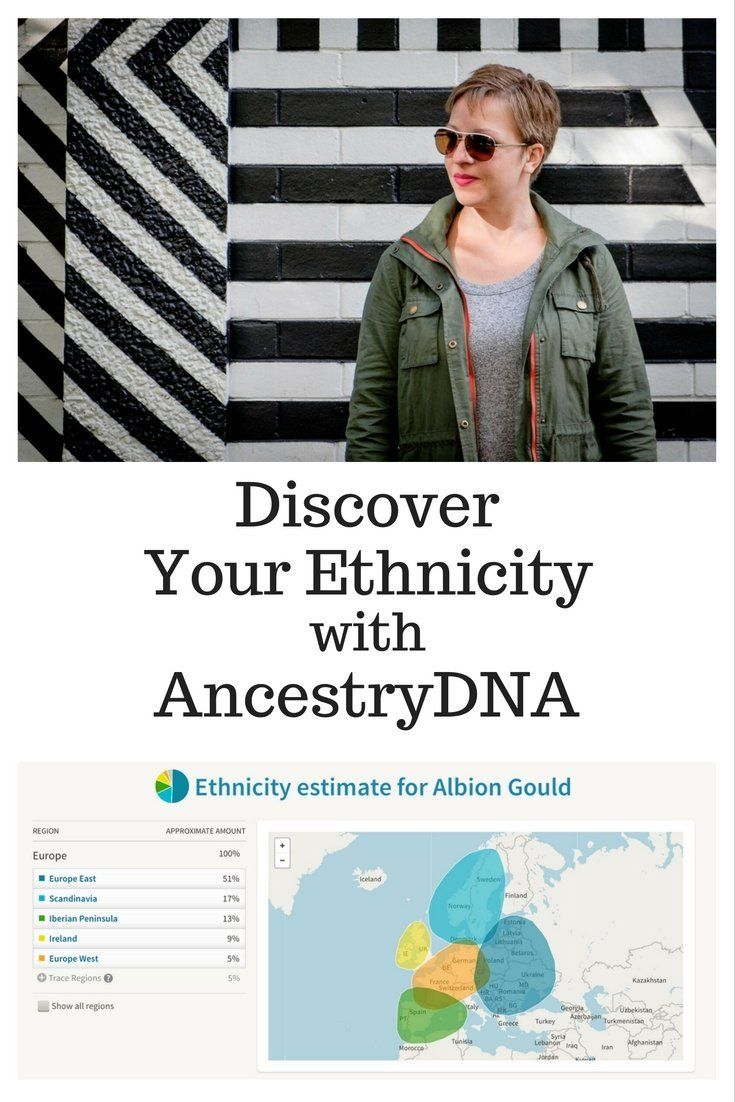 Discover your Ethnicity with AncestryDNA | AlbionGould com