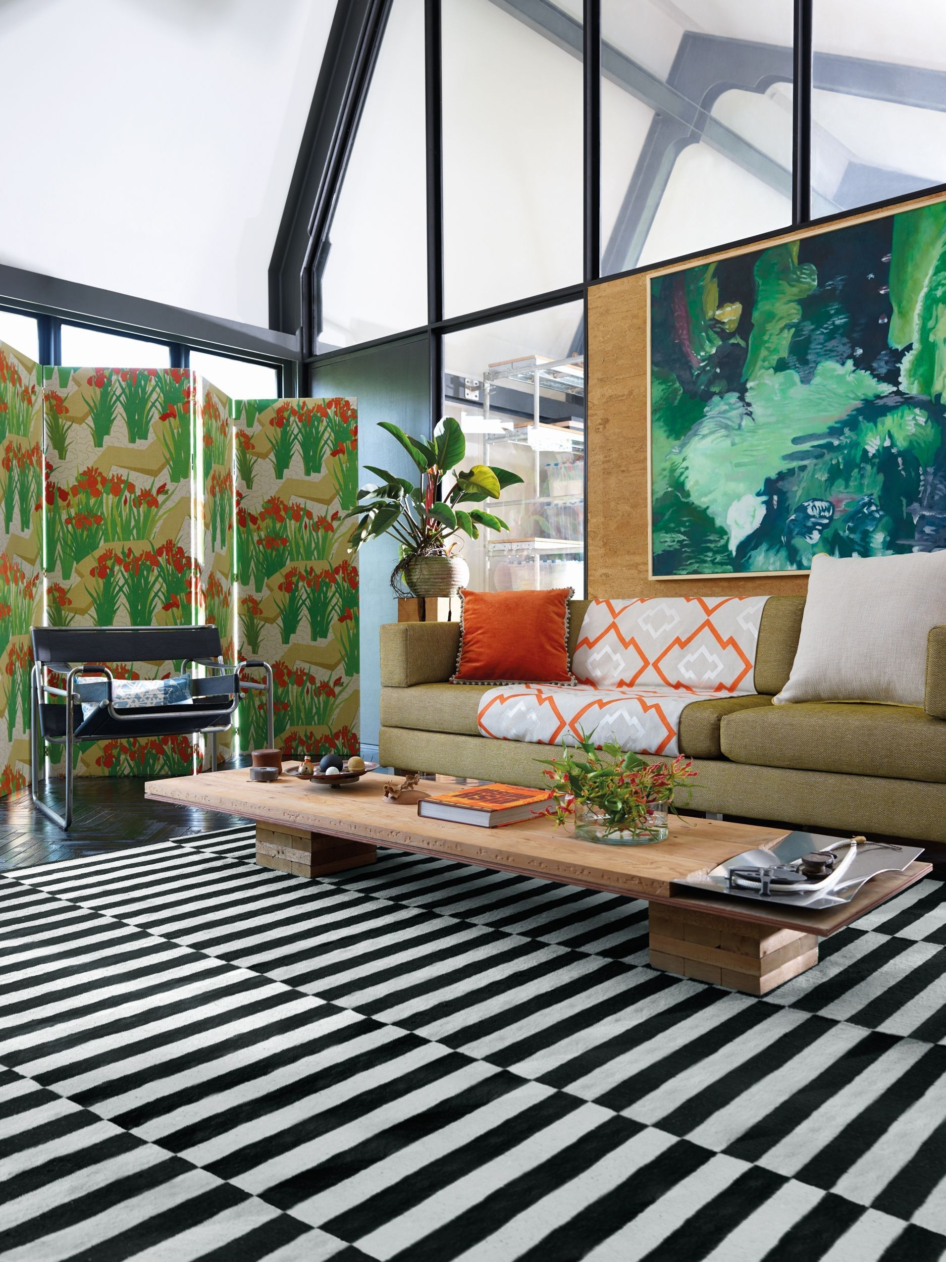 Indoor plants don't have to be boring and neither does