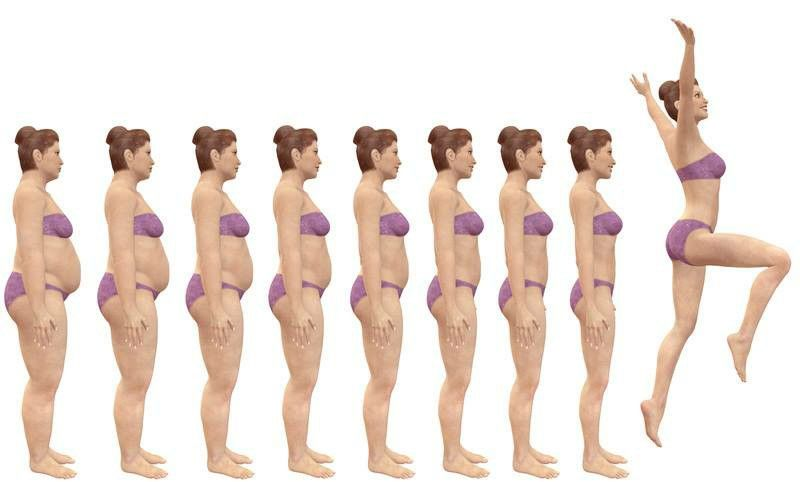 Самый простой способ похудеть 50 приседаний