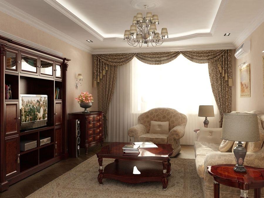 Красивый дизайн зала