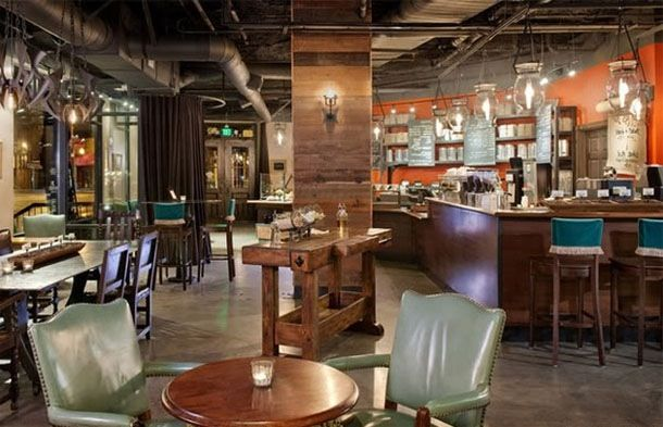 Starbucks interior is a great home decor inspiration! | Home for the ...