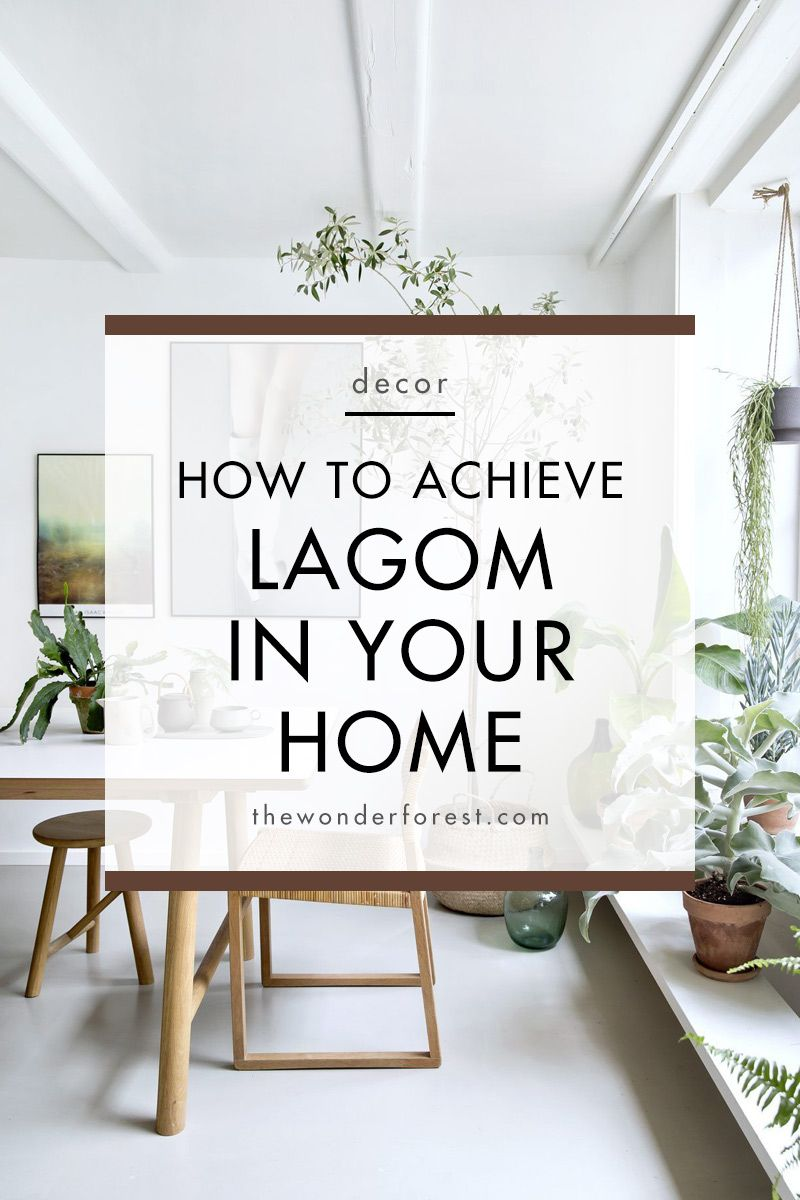 Lagom in Your Home The Scandinavian Decor Trend