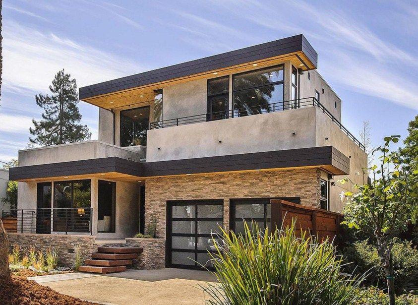 Fachadas de casas con piedra natural fachadas pinterest - Fachadas de piedra natural ...