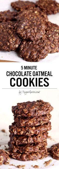No Bake Chocolate Oatmeal Cookies Whatever the reason....These Almond Bacon Ched...  - event-planing -