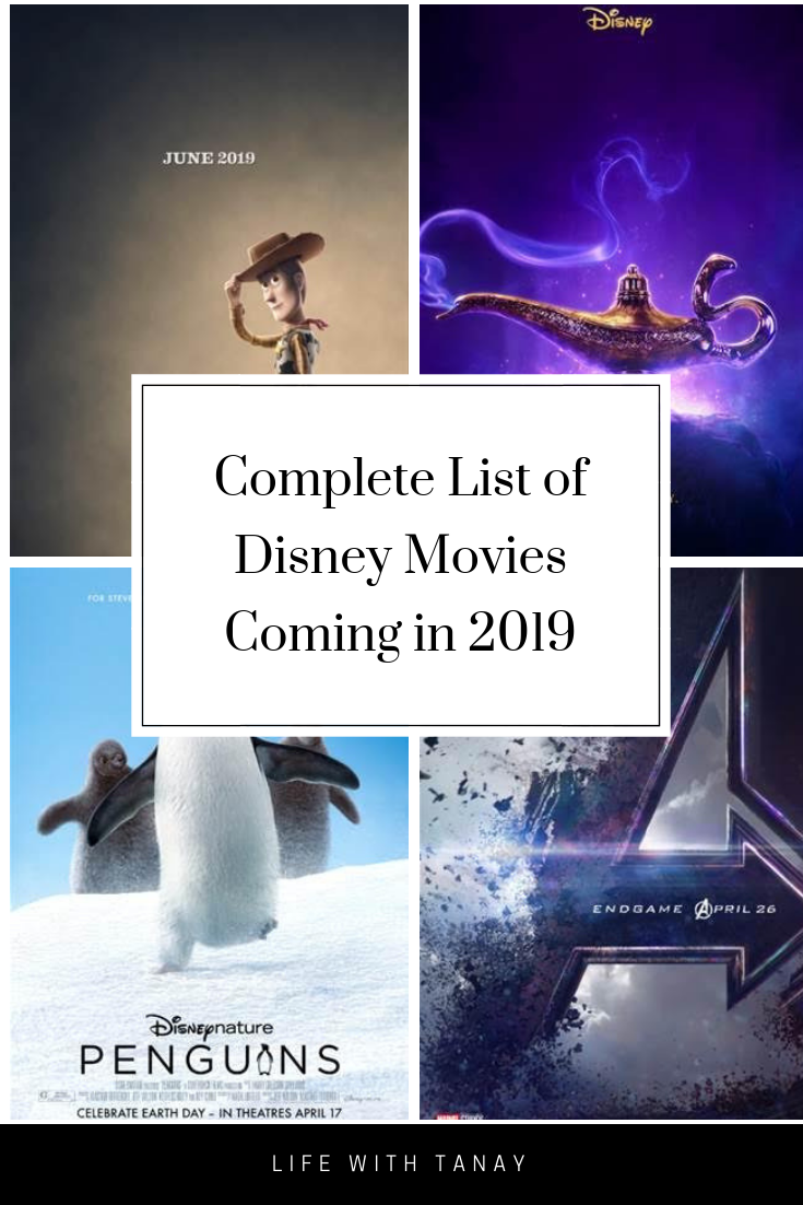 All The Disney Movies Coming in 2019 Disney movies list