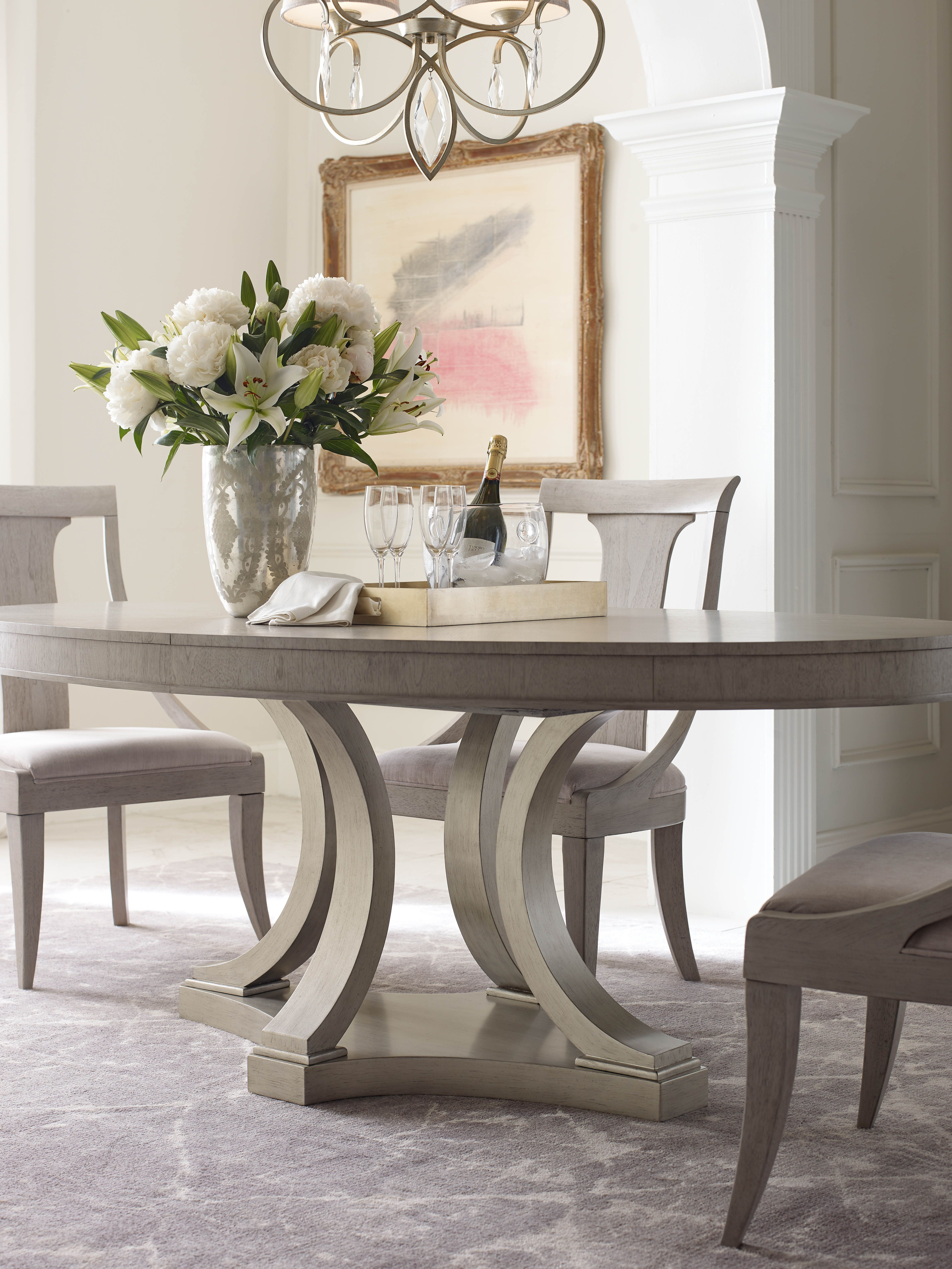 Rachael Ray Home Cinema Collection Pedestal Dining Table