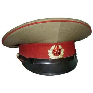 Russian Soviet Ussr Army Internal Troops Officer Maroon Visor Cap Army Hat Military Cap Visor Hats