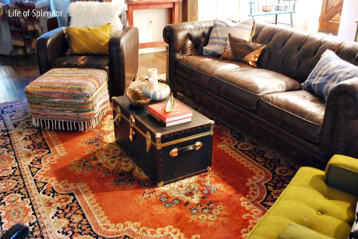 Enjoyable When The Mr Says No Goodbye Persian Rug Layered Living Alphanode Cool Chair Designs And Ideas Alphanodeonline