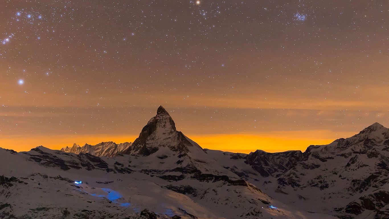 Bing Image Archive Matterhorn, Switzerland (© Markus