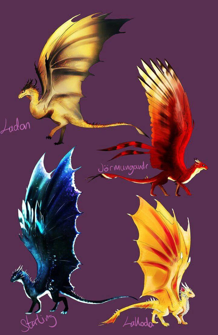 Drachenarten | drachen | Pinterest | Drachen
