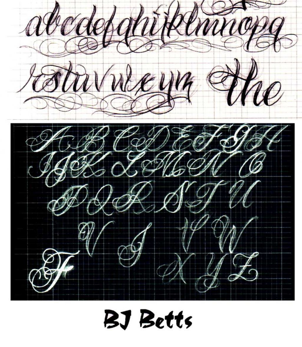 Drawing a Fancy Cursive Initial Design