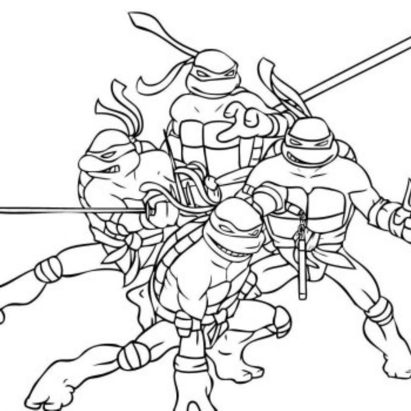 Teenage Ninja Turtle Coloring Pages Turtle Coloring Pages Ninja Turtle Coloring Pages Coloring Pages