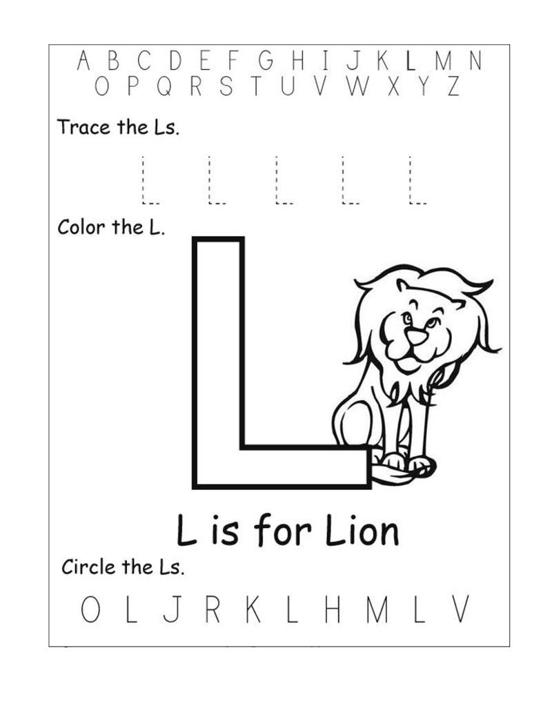 Alphabet Worksheets Free Lion Alphabet Worksheets Free Alphabet Worksheets Phonics Worksheets [ 1036 x 800 Pixel ]
