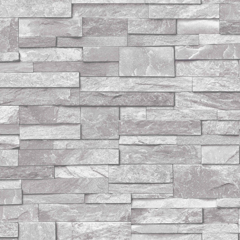 Details About 3d Slate Stone Brick Effect Wallpaper Washable Vinyl Stone Sand Grey Papel Tapiz De Piedra Fondo De Pantalla De Ladrillo Revestimiento De Piedra