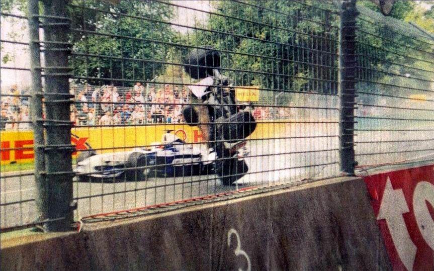 2001 le dernier accident mortel de la Formule 1 Racing