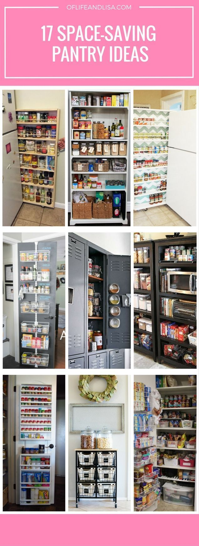 creative space saving pantry ideas for those with small on creative space saving cabinets and storage ideas id=40182