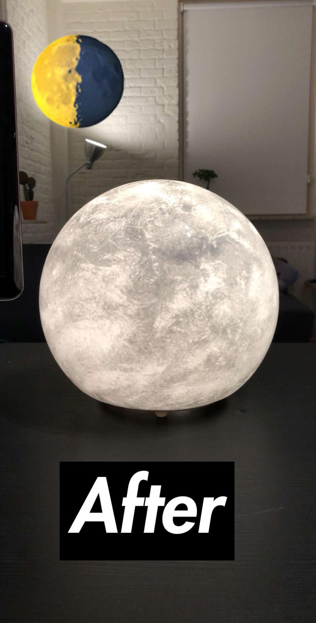 Want A Moon Lamp Diy From An 25 Ikea Lamp Ikea Hackers In 2020 Ikea Lamp Diy Lamp Kids Lamp Diy