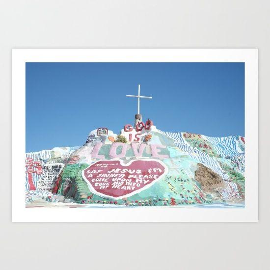 Salvation Mountain, California