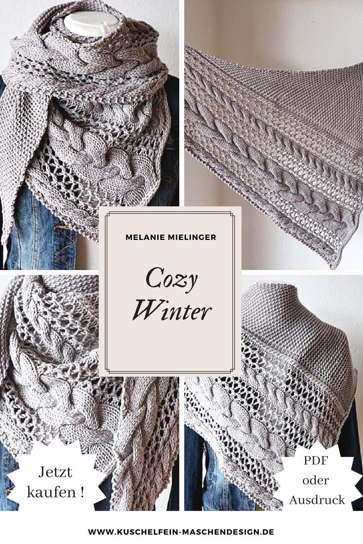 Photo of Strickanleitung Cozy Winter von Melanie Mielinger