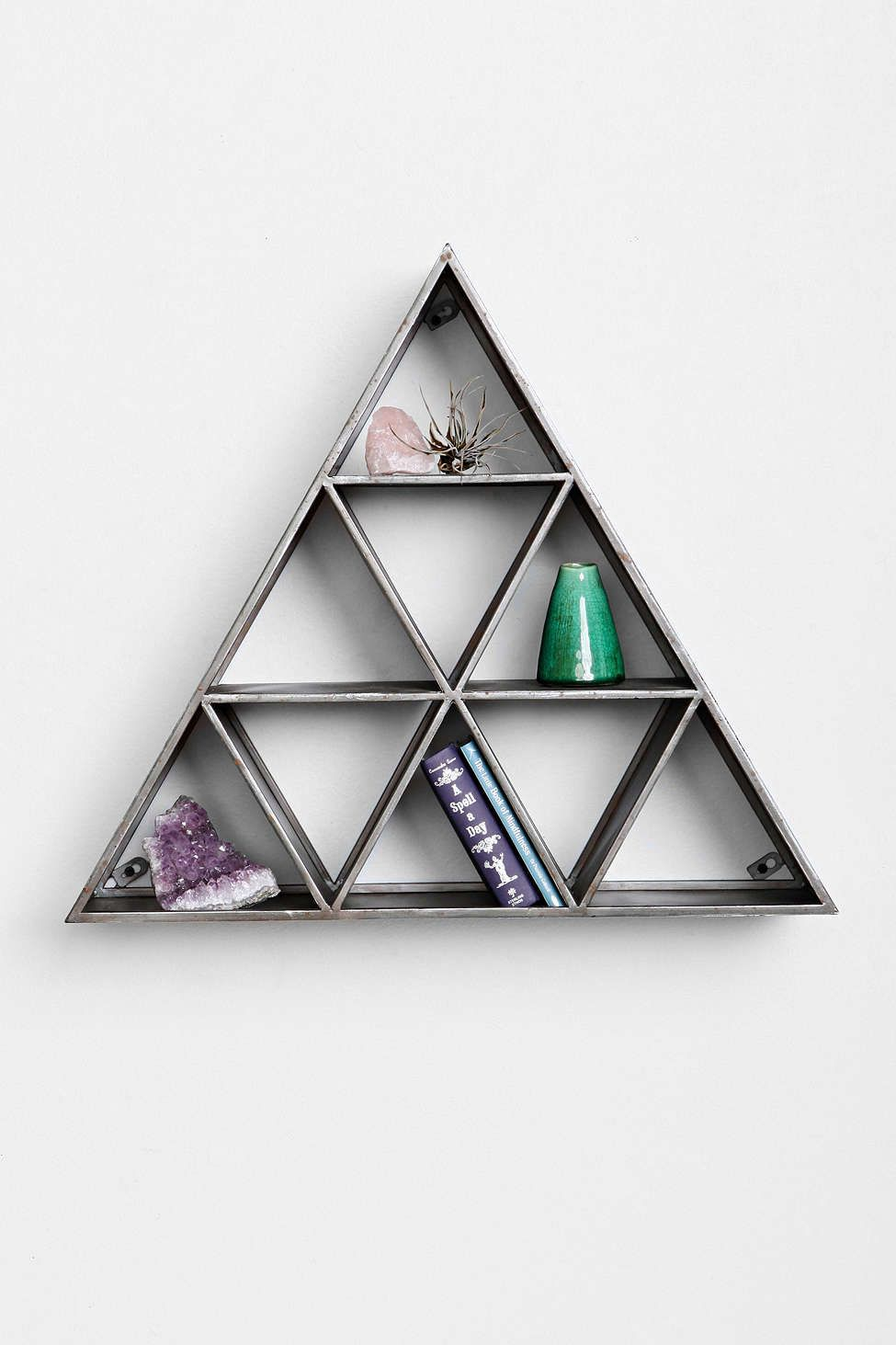 Geo Triangle Shelf - Urban Outfitters | wish list ...