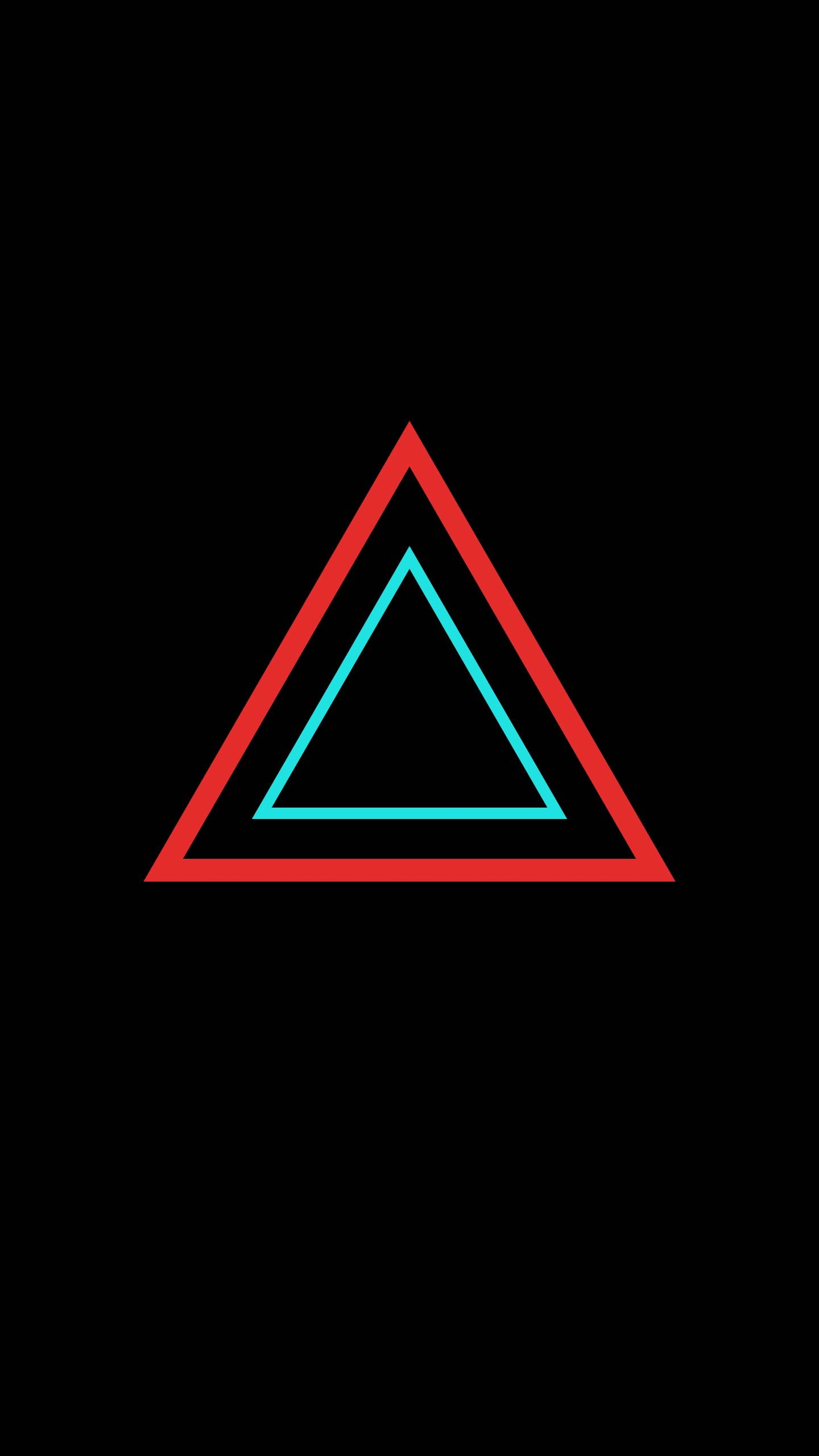 Triangle Wallpaper Black Backgrounds Wallpaper Triangle