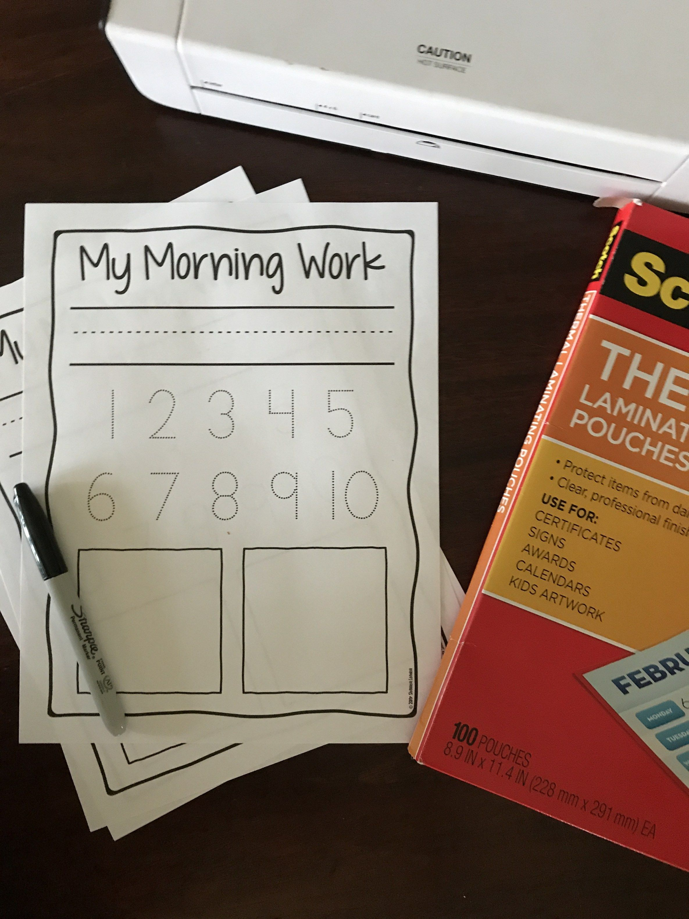 Free Preschool Worksheet You Will Use All The Time